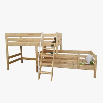 앤비 2층 라인 사다리 침대