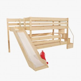 앤비 2층 계단 미끄럼틀 침대