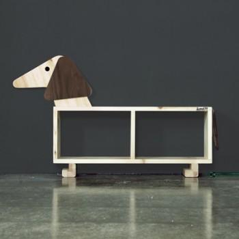 애니멀시리즈 - 강아지선반