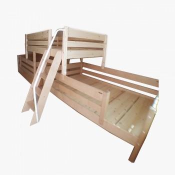 앤비 3인용 라인 사다리 침대