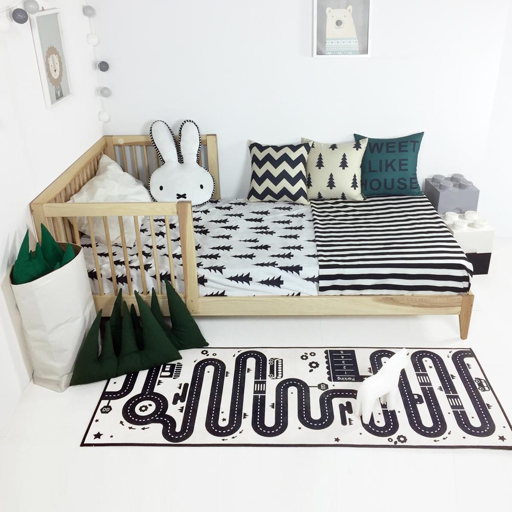 에쉬 통원목 엔젤키즈 침대