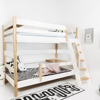 원목 하이 2층 사다리 침대