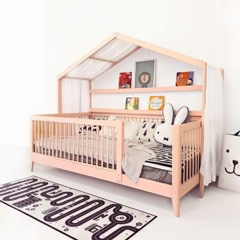 핑크 쁘띠 하우스 침대