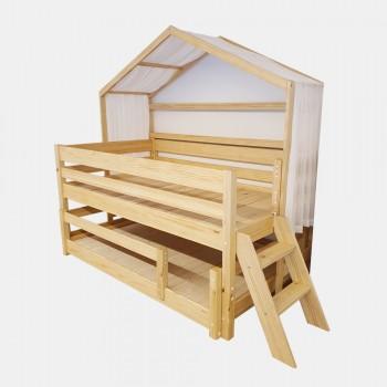 앤비 중층 슬라이딩 하우스 침대